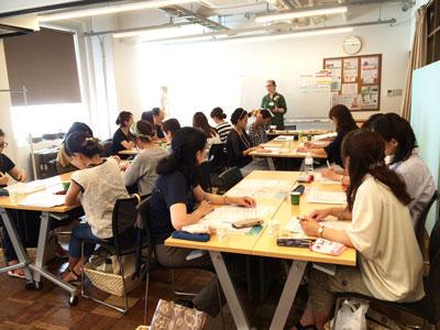 大阪校8月期★アロマティックラボが修了しました